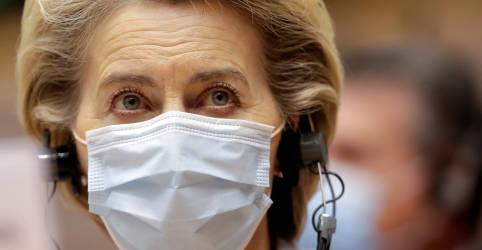 Placeholder - loading - UE não deve relaxar restrições contra coronavírus rápido demais, diz chefe do Executivo do bloco