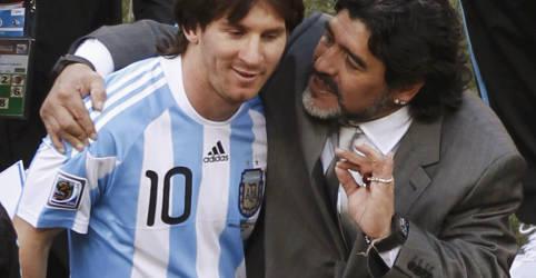 Placeholder - loading - 'Nos deixa, mas não se vai, porque Diego é eterno', diz Messi após morte de Maradona
