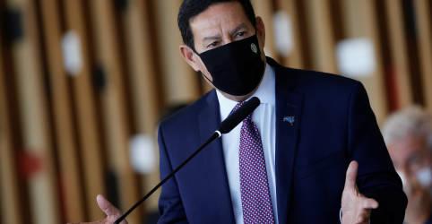 Placeholder - loading - Imagem da notícia Mourão se junta a Itamaraty e critica resposta da China a Eduardo Bolsonaro