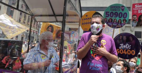 Placeholder - loading - Imagem da notícia Candidato à prefeitura de São Paulo, Boulos testa positivo para Covid-19