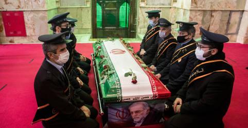 Placeholder - loading - Imagem da notícia TV do Irã diz que arma usada para matar cientista foi feita em Israel