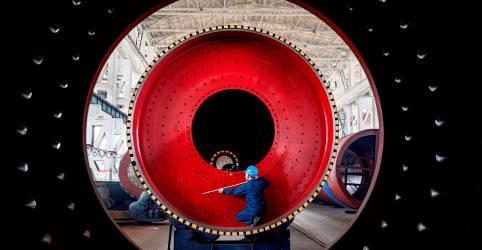 Placeholder - loading - Crescimento da indústria da China atinge máxima em uma década em novembro, mostra PMI do Caixin