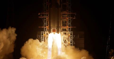 Placeholder - loading - Imagem da notícia China anuncia pouso de espaçonave na lua para recolher material lunar
