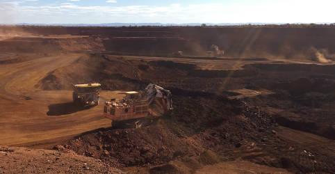 Placeholder - loading - Minério de ferro dispara e tem recorde na bolsa de Dalian