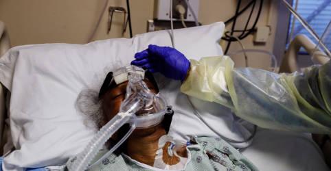 Placeholder - loading - América do Norte registra recordes diários de casos de Covid-19, diz Opas