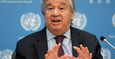 Placeholder - loading - Imagem da notícia Chefe da ONU crítica países que ignoram fatos da Covid-19 e orientação da OMS