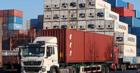 Placeholder - loading - Exportações da China sobem em novembro no ritmo mais forte em quase 3 anos