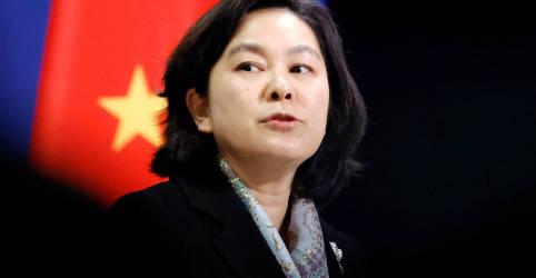 Placeholder - loading - China diz que se opõe firmemente a interferência dos EUA em seus assuntos