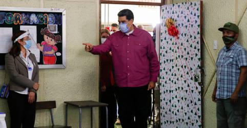 Placeholder - loading - Imagem da notícia Candidatos pró-Maduro assumem controle do Congresso da Venezuela após eleição boicotada