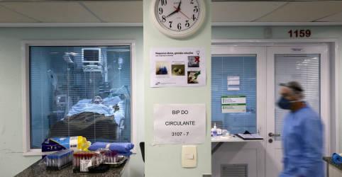 Placeholder - loading - Ministério da Saúde confirma 1º caso de reinfecção por Covid-19 no país