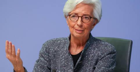 Placeholder - loading - Imagem da notícia BCE aumenta compra de títulos e ajuda a bancos para enfrentar nova recessão na zona do euro