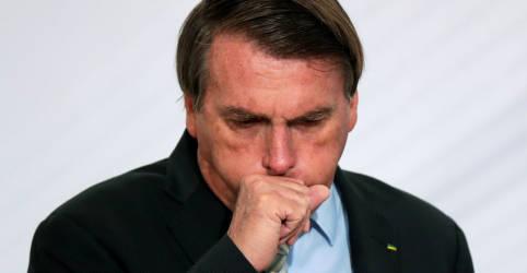 Placeholder - loading - Imagem da notícia Com crescimento acelerado de Covid-19, Bolsonaro diz que epidemia está no 'finalzinho'