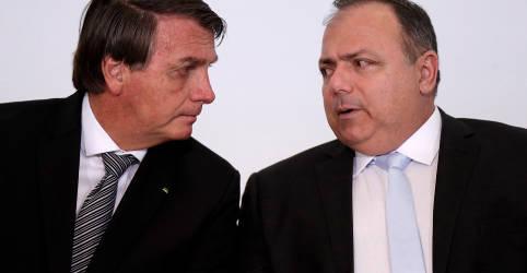 Placeholder - loading - 'Pandemia não acabou', diz Pazuello após fala de Bolsonaro de que Covid-19 está no 'finalzinho'