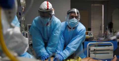 Placeholder - loading - EUA registram semana com maior número de mortos desde início da pandemia, com 17 mil óbitos