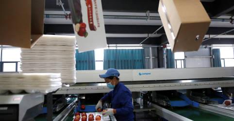 Placeholder - loading - Imagem da notícia Recuperação industrial da China acelera em novembro com alta da demanda do consumidor e exportações