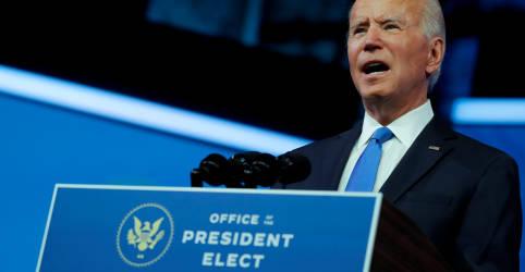 Placeholder - loading - Confirmado pelo Colégio Eleitoral, Biden apoiará candidatos democratas ao Senado na Geórgia