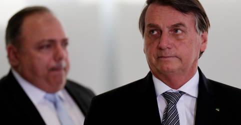 Placeholder - loading - Imagem da notícia Bolsonaro diz que serão liberados R$ 20 bilhões esta semana para vacinas