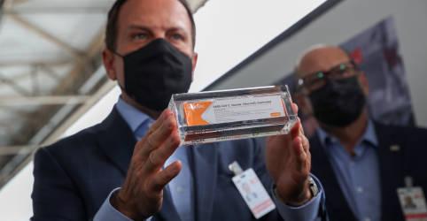 Placeholder - loading - São Paulo receberá mais 2 milhões de doses da CoronaVac na sexta-feira