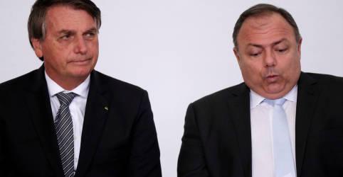 Placeholder - loading - Pazuello contraria Bolsonaro e diz que decisão do STF sobre vacinação é natural
