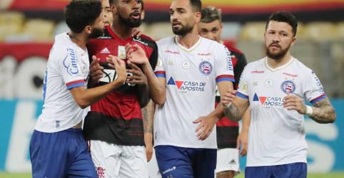 Placeholder - loading - Imagem da notícia Polícia vai investigar denúncia de injúria racial contra meia Gerson, do Flamengo