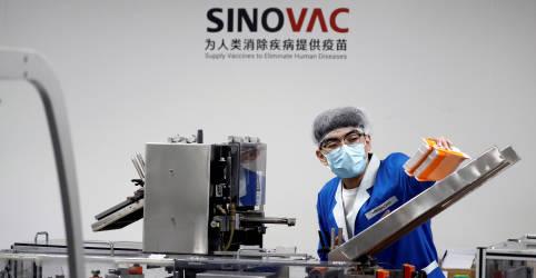 Placeholder - loading - Imagem da notícia Anvisa concede certificação à Sinovac após inspecionar fábrica