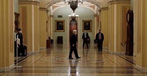 Placeholder - loading - Após meses, Congresso dos EUA aprova pacote de alívio à Covid-19 de US$892 bi