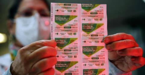 Placeholder - loading - Imagem da notícia Em ofício, Exército defendeu sobrepreço de 167% em insumos da cloroquina por necessidade de 'produzir esperança'