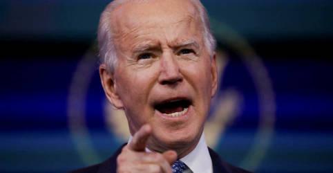 Placeholder - loading - Biden diz não ver evidências de que ataque hacker contra EUA foi controlado