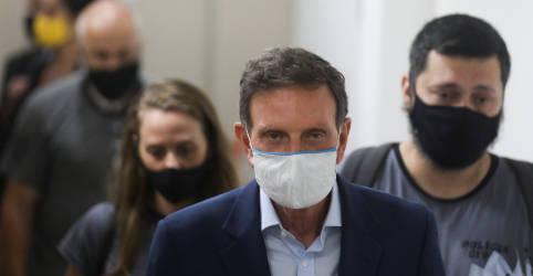 Placeholder - loading - Imagem da notícia STJ concede detenção domiciliar a Crivella após prisão por corrupção no Rio