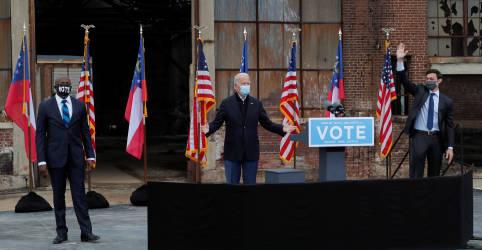 Placeholder - loading - Imagem da notícia Com o Senado dos EUA em jogo, democratas estão de olho no eleitorado negro na Geórgia