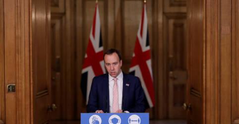 Placeholder - loading - Reino Unido amplia lockdown diante de novos casos por variante do coronavírus