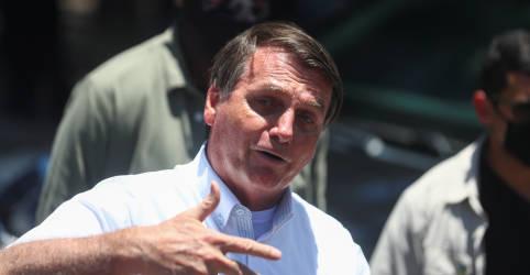 Placeholder - loading - Imagem da notícia Bolsonaro abre apoio a Lira e escancara inimizade com Maia