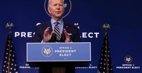 Placeholder - loading - Biden diz que assessores de Trump estão atrapalhando equipe de transição