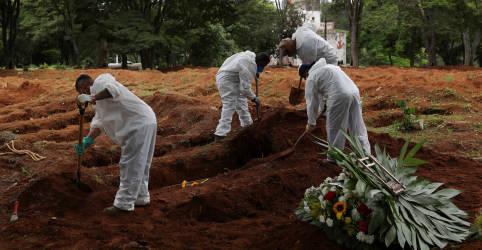 Placeholder - loading - Imagem da notícia Brasil registra 1.194 novas mortes por Covid-19, maior número diário em 4 meses