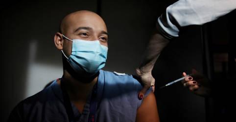 Placeholder - loading - Vacinação contra Covid-19 nos EUA em 2020 fica muito aquém da meta de 20 milhões de pessoas