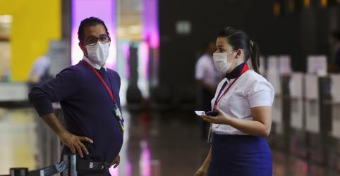 Ministro descarta interrupção de voos após caso confirmado de coronavírus