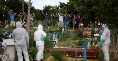 Placeholder - loading - Brasil registra mais 105 mortes por coronavírus e total vai a 1.328