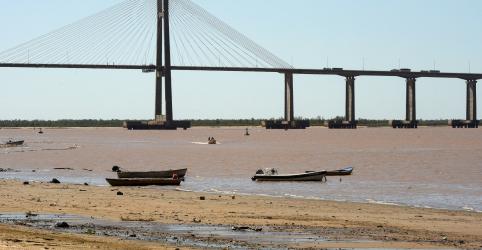 Placeholder - loading - Imagem da notícia Piora no nível do rio Paraná desacelera ainda mais exportação de grãos da Argentina