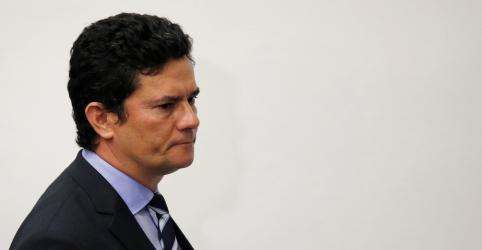 REPERCUSSÃO-Moro anuncia saída do Ministério da Justiça com discurso duro