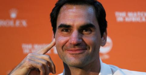 Placeholder - loading - Imagem da notícia Federer sugere fusão das entidades masculina e feminina de tênis