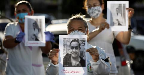 Placeholder - loading - Imagem da notícia Casos de coronavírus no mundo passam de 3 milhões; países começam a afrouxar isolamento