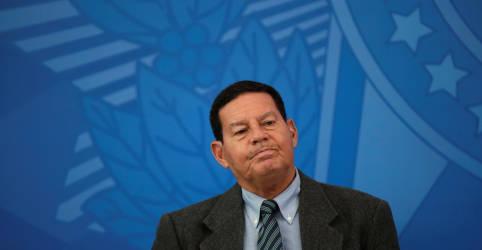 Placeholder - loading - Mourão defende que Congresso discuta imposto nos moldes da CPMF
