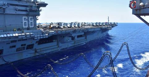 Placeholder - loading - Imagem da notícia EUA rejeitam reivindicações de Pequim sobre Mar do Sul da China e agravam tensão