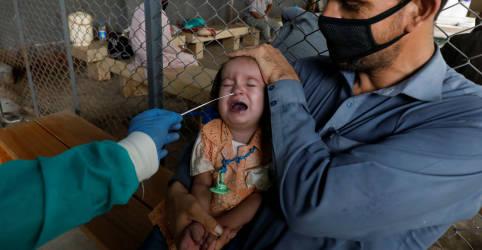 Placeholder - loading - Especialistas tentam acalmar temores de transmissão de Covid de gestantes a bebês