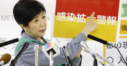 Placeholder - loading - Imagem da notícia Situação 'bastante grave' leva Tóquio a declarar alerta vermelho para coronavírus