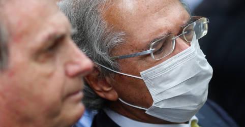 Placeholder - loading - Imagem da notícia Guedes testa negativo para Covid-19, diz Ministério da Economia