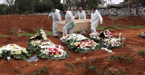 Placeholder - loading - Imagem da notícia SP estima entre 21 mil e 26 mil mortes acumuladas por Covid-19 no final do mês