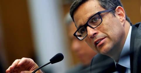 Placeholder - loading - Imagem da notícia Recuperação econômica não deve ser um V completo, diz Campos Neto