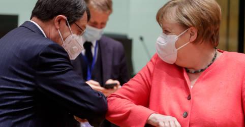 Placeholder - loading - Imagem da notícia 'Apostas não podiam ser mais altas' em cúpula sobre plano de recuperação da UE