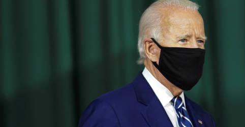 Placeholder - loading - Biden tem 8 pontos de vantagem sobre Trump e dianteira entre eleitores indecisos, diz pesquisa Reuters/Ipsos
